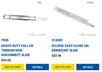 Accuride Now Has An Online Store For Direct Sales