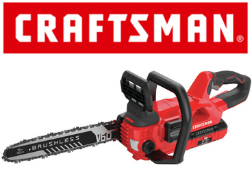The new CMCCS660E1 from Craftsman is a cordless 16 inch chainsaw
