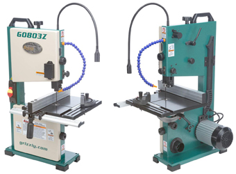 "The G0803Z is a 9"" benchtop band saw from Grizzly Industrial"