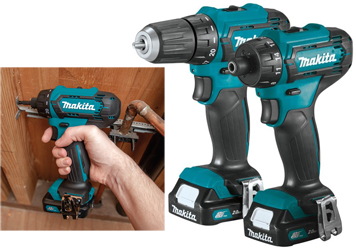 Makita FD09 and FD10 compact drill and screwdriver