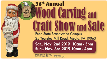 William Rush Woodcarvers Show in Media PA