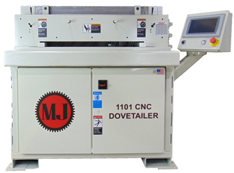 Mereen-Johnson's new Model 1101 Single Spindle CNC Dovetailer
