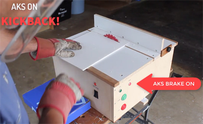 Anti-kickback for table saw