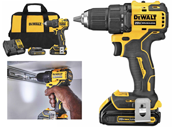 New compact drill driver from DeWALT