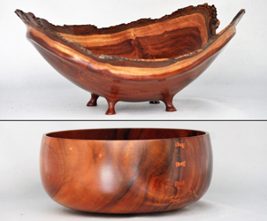 Big Island Woodturners Invitational 20th Annual Exhibit