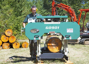 "Grizzly G0901 - 28"" Portable Sawmill"