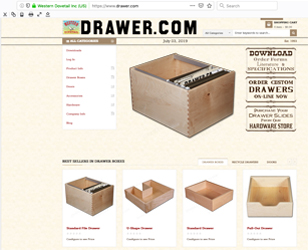 Drawer.com updates its website