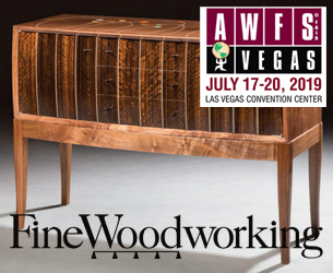 Fine Woodworking is presenting at AWFS 2019