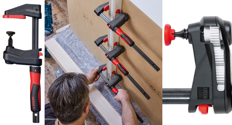 BESSEY Tools' unique new GearKlamp offers a more compact solution than the classic bar clamp