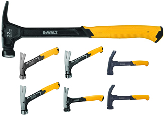 DeWALT has expanded its line of hammers with 14 new tools