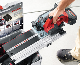 Mafell has made cross-cutting easier and more portable with its new battery powered KSS 40 18M bl