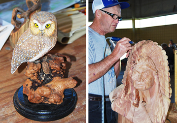 The 24th annual Learning Seminar will be presented by the Michigan Wood Carvers Association