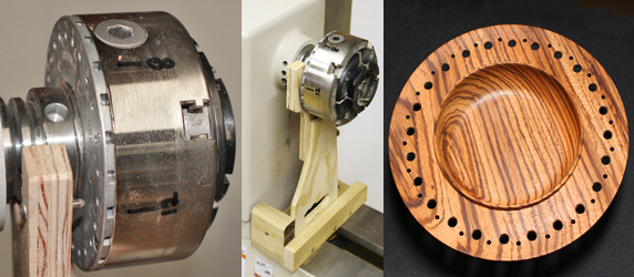 Here's a jig for indexing with a Vicmarc woodturning chuck