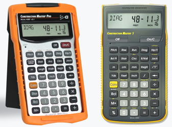 Calculated Industries has released enhanced feature for Construction Calculators