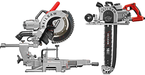 Skilsaw introduces two new wormdrive saws
