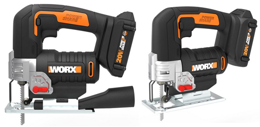 The WX543L is a 20 Volt jigsaw from Worx